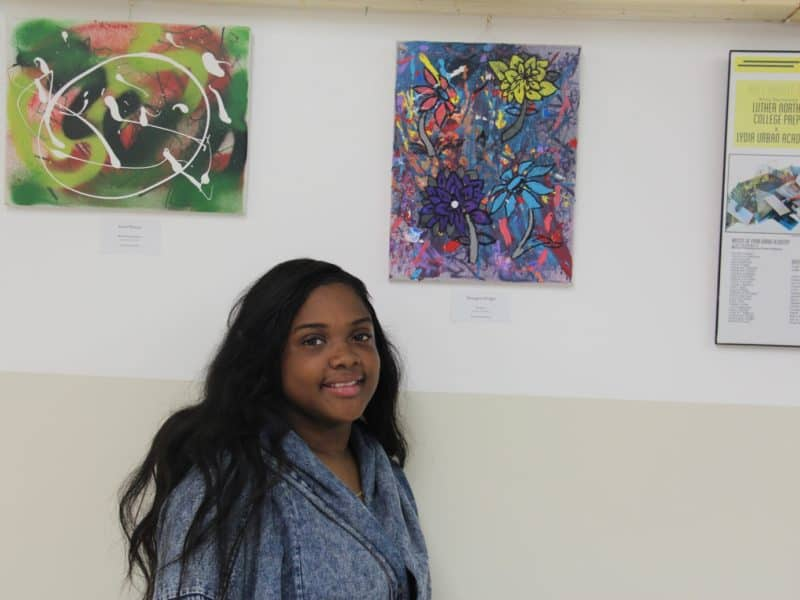 Around the Corner multi-high school art exhibition 2015