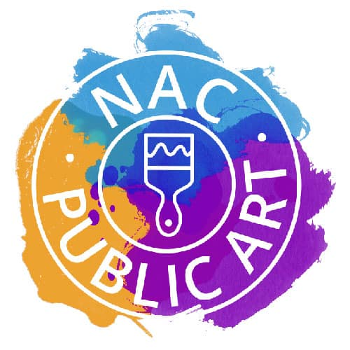 NAC Year of Public Art logo