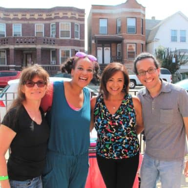 Senator Iris Y. Martinez, NAC team members and Mari DeOleo at Family Wellness & Back to School Fair 2017