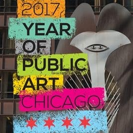 2017 Year of Public Art logo with Picasso